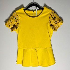 KAREN MILLEN**Gorgeous Yellow Top**US 6 $228